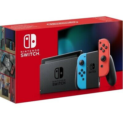 Nintendo Switch Console V2 with Blue/Red Joy-Con - Brand New-