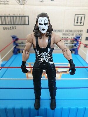 WWF WWE Basic Mattel Series 68B Wrestling Figure Sting WCW