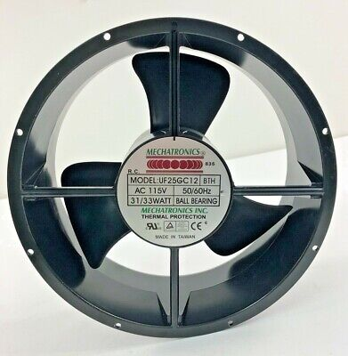 "Mechatronics, UF25GC12, Axial Fan, 9"" (Used / Operational)"