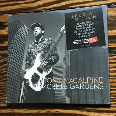 Tony MacAlpine / Concrete Gardens (NEW) (CD / DVD) (Special Edition) - Tony Ma..