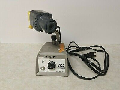 AO Scientific Instruments Model 650 Optical Microscope Light Source For Parts