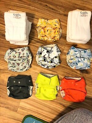 Grovia Cloth Diapers And Inserts