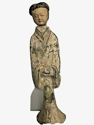 Chinese Tang Dynasty Style Pottery, Removing Head, Figurine, Rare