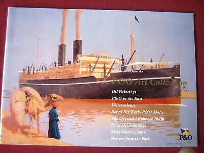 P&O Ships Art Collection Brochure L@@K Canberra Oriana etc