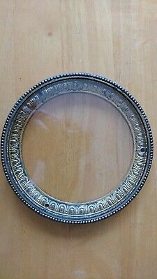 Mantle clock bezel with glass, spares and repair