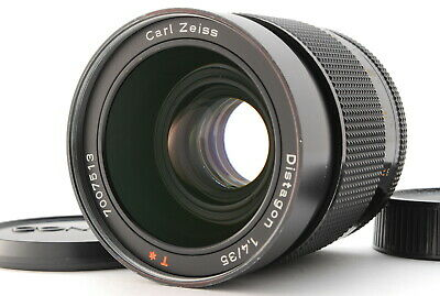 CONTAX Carl Zeiss Distagon T* 35mm F/1.4 MMG Lens for CY mount from Japan #195