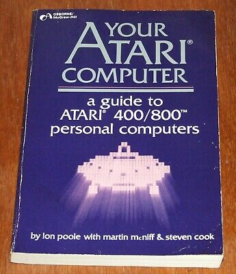Book: Your Atari Computer for 400 800 8-bit vintage computer