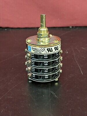 Shallco 16A1-B-4 Four Stack Rotary Switch