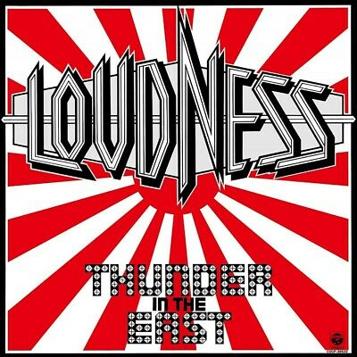 2016 LOW PRICE REISSUE LOUDNESS THUNDER IN THE EAST CD Album Rock Heavy Metal