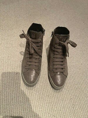 Womens Geox high top trainers worn once size 37