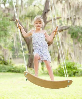 Skateboard Shaped Tree Swing Play Toy That Lets You Swing In Any Direction