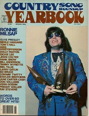 Country Song Roundup Yearbook Magazine Spring 1978 Ronnie Milsap Conway Twitty