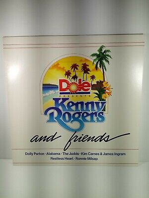 Dole Presents Kenny Rogers and Friends vinyl lp Dolly Parton Kim Carnes