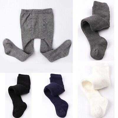 Baby Girls Boys Kids Tights Pantyhose Stockings Leg Hosiery Cotton Blended 0-5Y