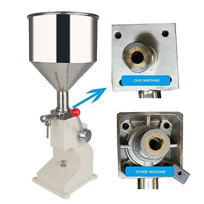 New Manual Bottled Water Filling Machine Liquid&Paste For Filling Cream 5-50ML