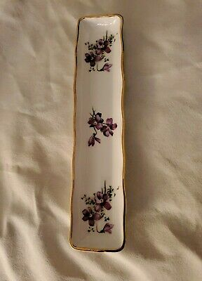 VINTAGE, Victorian Violets, Hammersley, Bone China Tray, England, WHOLESALE
