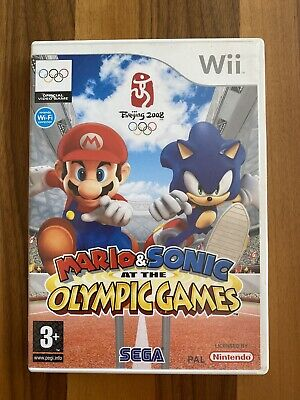 Mario & Sonic At The Olympic Games Beijing 2008 (Nintendo Wii, 2007)