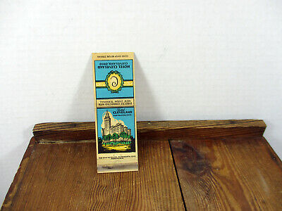Hotel Cleveland Ohio Matchbook Cover