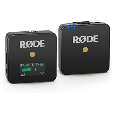 Rode Wirelss Go Compact Wireless Microphone System (Black)
