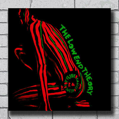 14x14 24x24 Poster A Tribe Called Quest The Low End Theory Hip Hop Cover K-681