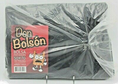 Black Trash Bags Don Bolson 30 Count 13 Gallon Made In Mexico