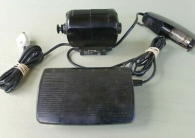 Original Singer Foot Control Pedal 619000-016 Motor BZB 60-12 and Lamp for Parts