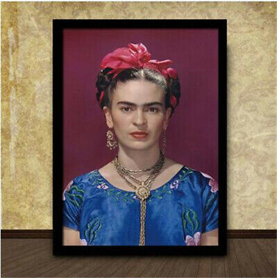 FRIDA KAHLO CON AMIGOS OIL PAINT  RE PRINT ON  CANVAS WALL ART HOME DECORATION