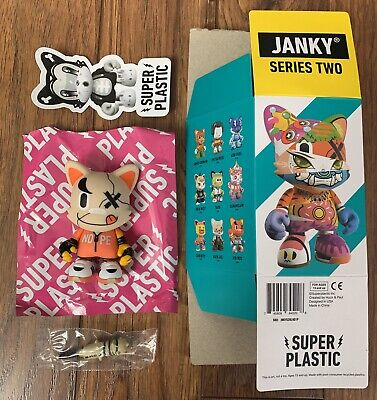 SUPERPLASTIC JANKY SERIES 2 OUCH JOR ROS CHASE DESIGNER TOY ART