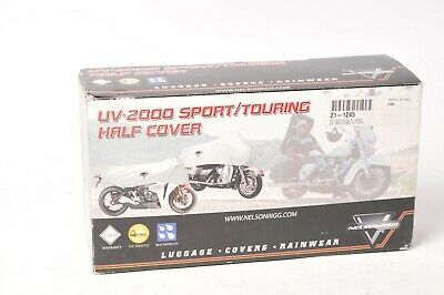 Nelson-Rigg UV2000 Motorcycle Half Cover Silver XL Extra-Large - Cruiser Dresser