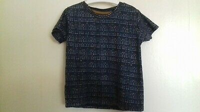 River Island Baby Boys Blue T-Shirt / Top - Age 12-18 Months