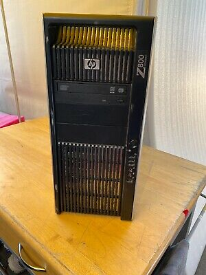 HP Z800 Workstation 2*Intel Xeon X5650 2.67Ghz 16GBRAM 3x500 GB HDD Windows 10