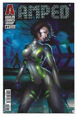 VF+ AMPED # 1 JAMIE TYNDALL PRISM FOIL WHITE WIDOW VARIANT COVER  !