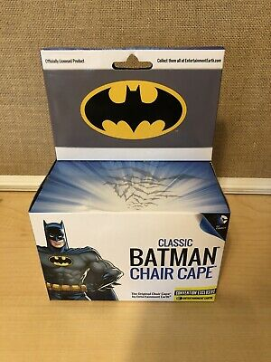 Justice League Movie Batman Chair Cape - Convention Exclusive New In The Box