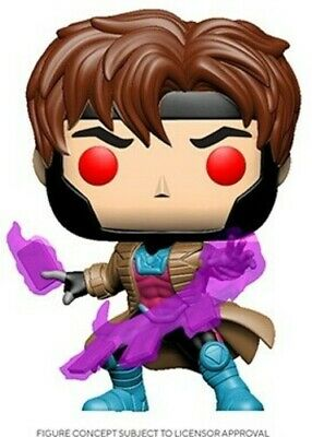 X-Man Classic - Gambit W/ Cards - Funko Pop! Marvel: (2020, Toy NUEVO)
