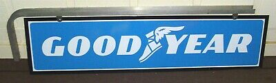 Goodyear Metal Double-Sided Sign With Hanging Bracket 51-½""