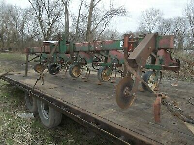 Miller International Farm 3 Point 4 Row Corn Field Equipment Cultivator Drag