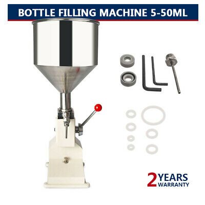 A03 Manual Bottled Water Filling Machine Liquid&Paste For Filling Cream 5-50ML