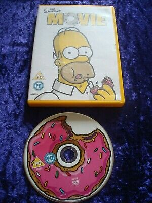 The Simpsons Movie Dvd With Homer Toy 19 99 Picclick Uk