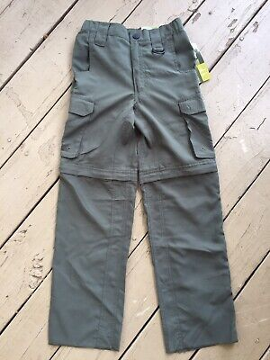 Boy Scouts of America Uniform Switchbacks Green Poly Cargo Pants Youth Small