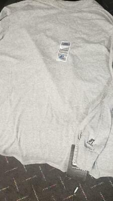 Russell Athletic Essential 60/40 Performance Long Sleeve T-Shirt 2XL GREY