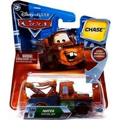 PIXAR CARS LENTICULAR MATER OIL CAN CHASE NEVER OPENED