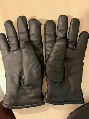 CARHARTT Womens Leather Gloves size medium lined