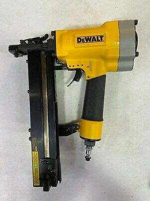 DEWALT DW451S2 Pneumatic 16-Gauge 1 in. Crown Lathing Stapler - NEW