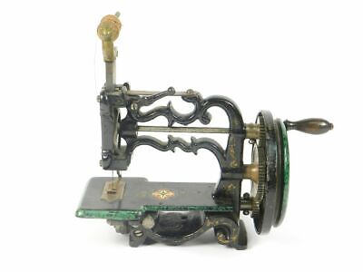 Maquina De Coser James G. Weir - Charles Raymond Año 1869 Sewing Machine  Coudre