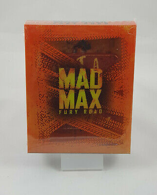 Mad Max Fury Road Edition Collector Steelbook Blu-ray 4K Ultra HD Titans of Cult