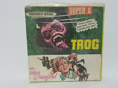 NEW SEALED TROG - Joan Crawford Super 8 Movie Film Reel (1971)