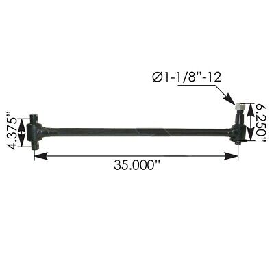 Torque Rod with bushings included part #3620478C1, part #TMR36291