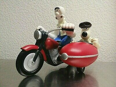 Wallace & Gromit on Motor Bike Tooth Brush Holder Euromark plc 1989