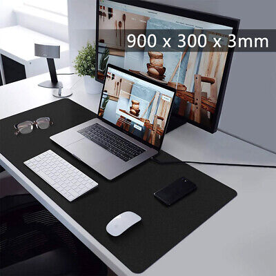 Extra Large XXL Gaming Mouse Pad Mat for PC Laptop Macbook Anti-Slip 900x300mm