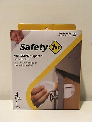 Safety 1st Extra Key For Adhesive Magnetic Lock System with 1 Key, 4 Locks